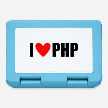Php I LOVE PHP - Lunchbox
