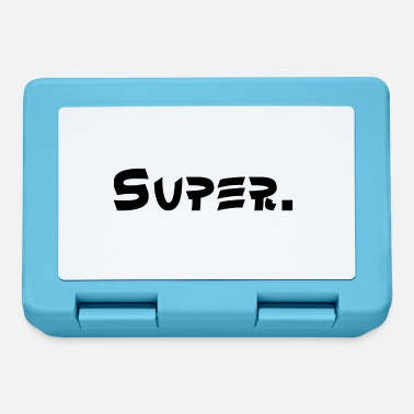 Super Super. - Lunch box