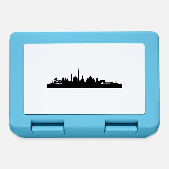 Pope Lunchboxes - Rome skyline - Lunchbox sapphire blue