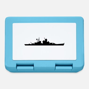 Navy Vector Navy warship Silhouette - Lunchbox