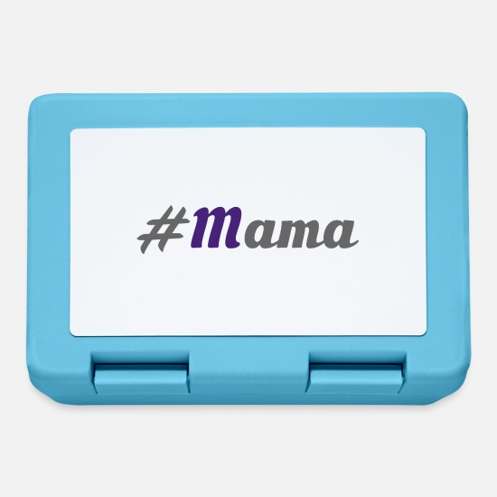 Mummy Lunchboxes - #Mummy - Lunchbox sapphire blue