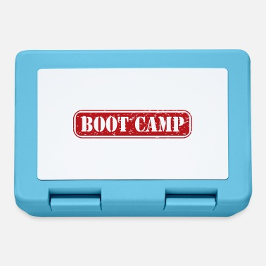 Drill Bootcamp training camp gift military drill - Lunchbox