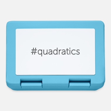 Quadrat quadratics - Lunchbox