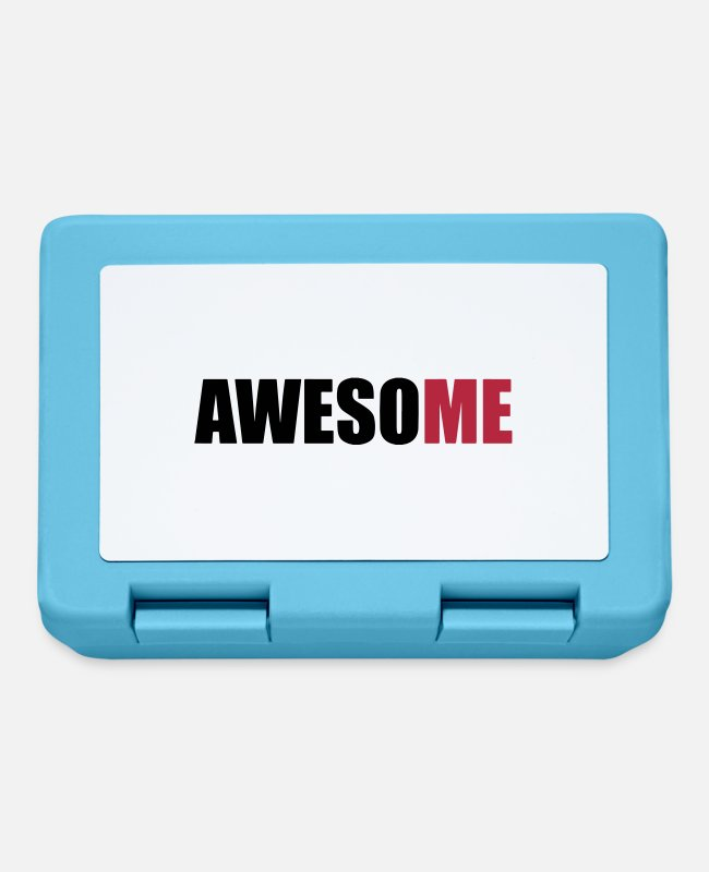 Proud Lunchboxes - AwesoME - Lunchbox sapphire blue