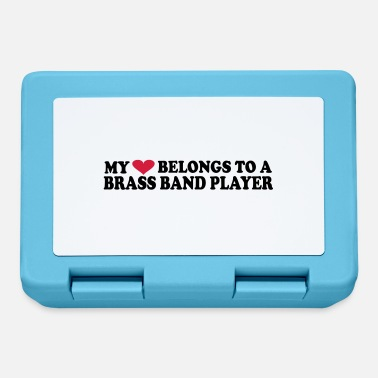 Brass Band MY HEART BELONGS TO A BRASS BAND PLAYER - Lunchbox