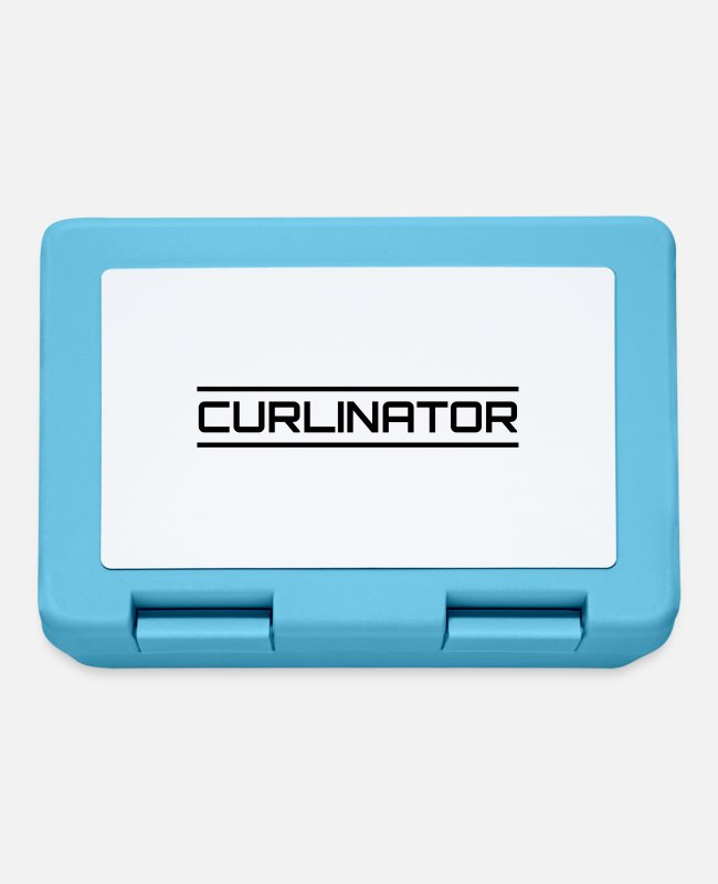 Wretch Lunchboxes - Curlinator - Lunchbox sapphire blue