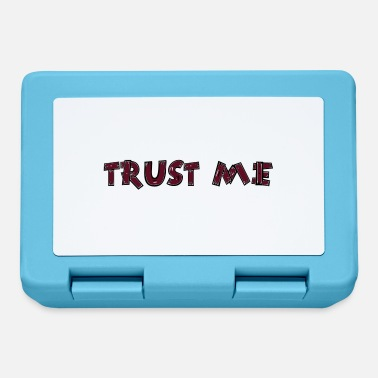Fencing Slogan Trust Me - Lunchbox