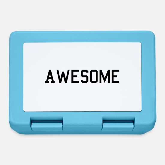 Awesome Lunchboxes - awesome - Lunchbox sapphire blue