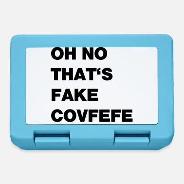Falso covfefe falso - Lunch box