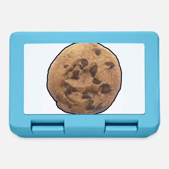 Hungry Lunchboxes - Cookie - Chocolate Chip - Snack - Food - Sweet - Lunchbox sapphire blue