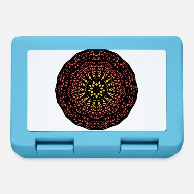 Mandala Flower Spiritual Fractal Ornaments - Lunchbox