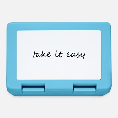 Take Take it easy - Lunchbox