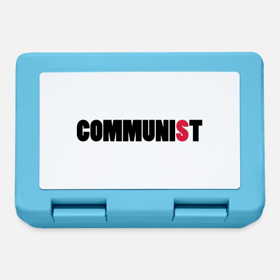 Comunisti Lunch boxes - Comunista - Lunch box blu zaffiro