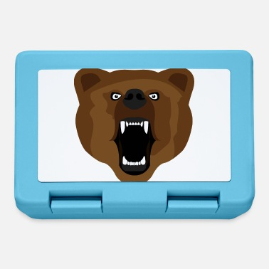 Aggressivo Bear / Bear / Медвед / aggressivo - Lunch box