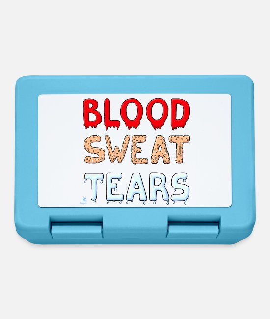 Weld Lunchboxes - Blood Sweat Tears - Lunchbox sapphire blue