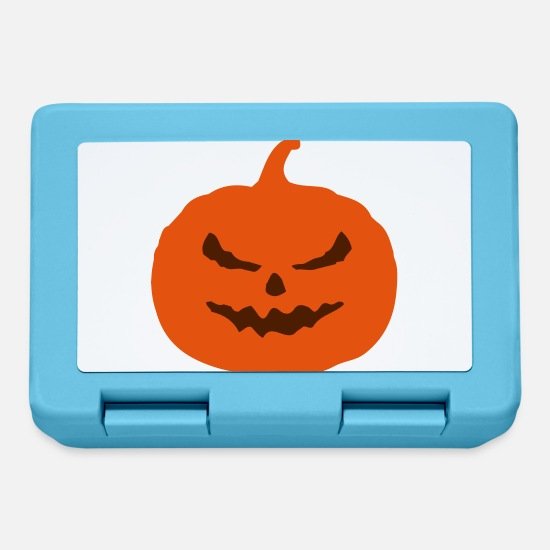 Halloween Lunchboxes - pumpkin - Lunchbox sapphire blue