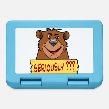 Seriously front - Bear Seriously - Lunchbox