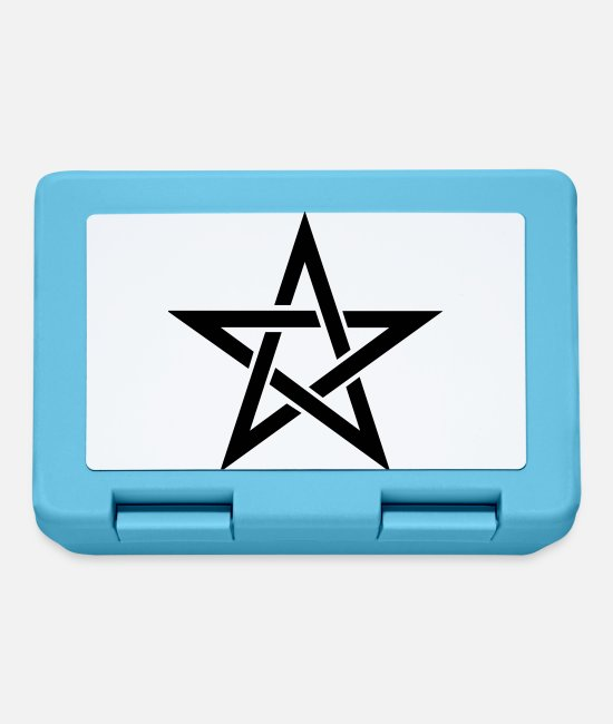Viking Lunchboxes - Pentagram - Lunchbox sapphire blue