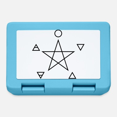 Four Elements Pentagram, elements, spirit, magic symbol - Madkasse