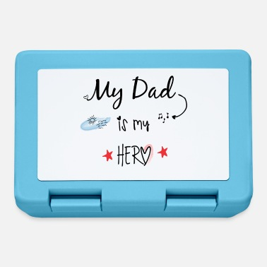 Dad is my Hero - Lunchbox