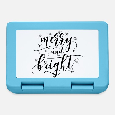 Bright MERRY AND BRIGHT - Lunchbox