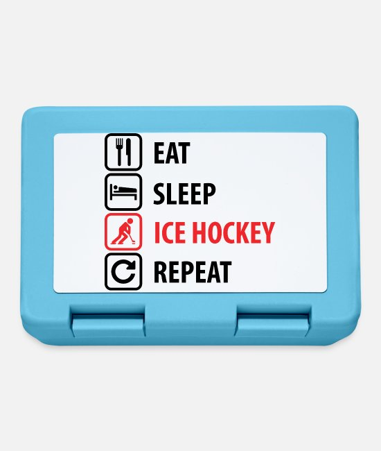 Floor Hockey Lunchboxes - Ice hockey - Lunchbox sapphire blue