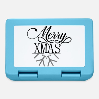 Merry Merry xmas - Merry Christmas - Lunchbox