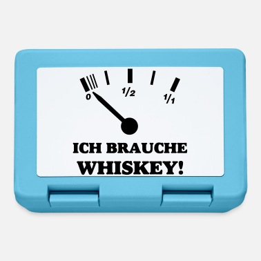 Whiskey ICH BRAUCHE WHISKEY - Brotdose