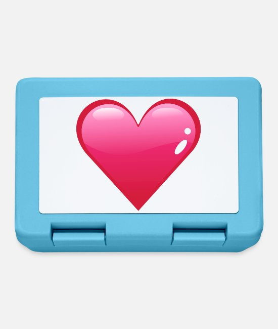 Heart Lunchboxes - Herz / heart (DDP) - Lunchbox sapphire blue