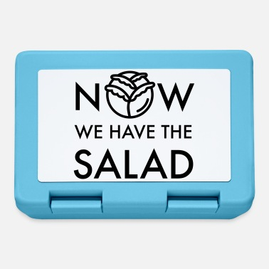 Now we have the salad - Lunchbox