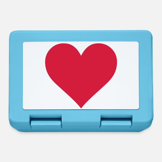 Heart Lunchboxes - Heart - Lunchbox sapphire blue