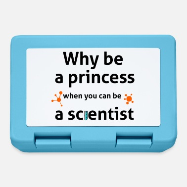 why be a princess when you can be a scientist - Lunchbox