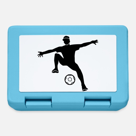 Freestyle Lunchboxes - freestyle football - Lunchbox sapphire blue