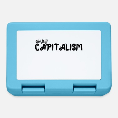 Street Sign Enjoy Capitalism - Lunchbox