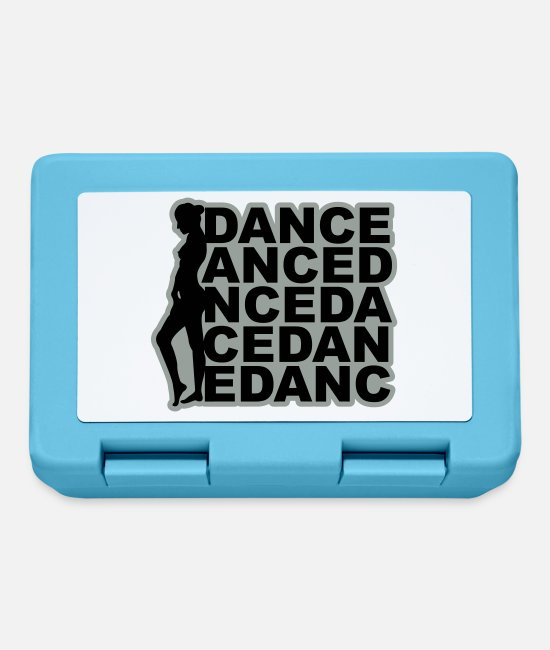 Sexy Lunchboxes - Dance Dance Dance - Lunchbox sapphire blue