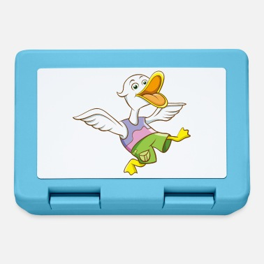 Funny duck shirt motif comic style - Lunchbox
