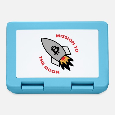 Mission Bitcoin mission moon - Lunchbox