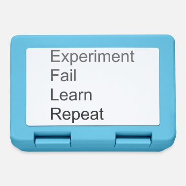 Experiment Fail Learn Repeat - Madkasse