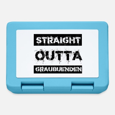 Grisons Straight Outta Grisons gift city - Lunchbox