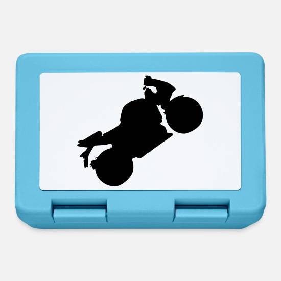 Gift Idea Lunchboxes - Motorcycle - Lunchbox sapphire blue