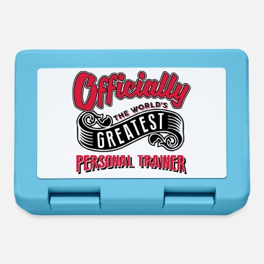 Official-person Officially greatest personal trainer wor - Lunchbox