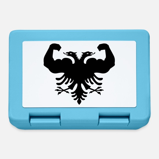 Albanian Eagle Lunchboxes - Albania (orig.) - Lunchbox sapphire blue