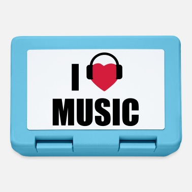 I Love Music i love music - Lunchbox