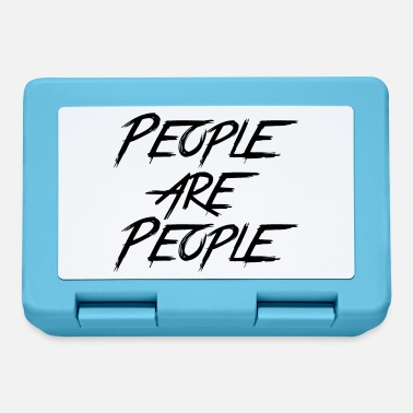 People PEOPLE ARE PEOPLE - Lunchbox
