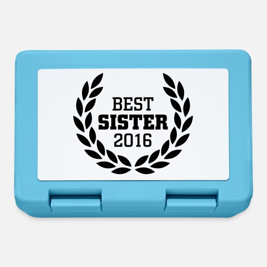 Ricompensa Lunch boxes - Best Sister 2016 - Lunch box blu zaffiro