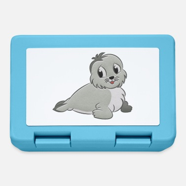 Seal-animal Seal stuffed animal - Lunchbox