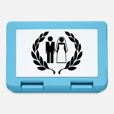 Wedding Couple Hochzeitspaar - Wedding Couple - Lunchbox