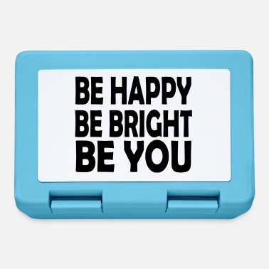Bright be bright be you - Lunchbox