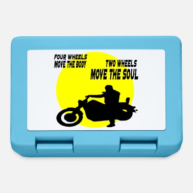 Two-wheeled two wheels move the soul - Lunchbox