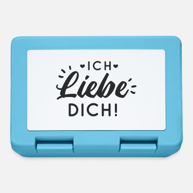 Liebesgeständnis Proof of love Marriage proposal Valentine's Day compliment - Lunchbox